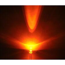 100 LEDS 3MM Ambar 5.000mcd Alto Brillo 3 mm Amber Gratis Resistencias Resistor