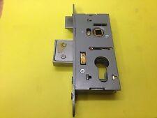 Union L22070 Aluminium Door Lock Euro Profile Double Throw 36mm Back Set 48mm pz
