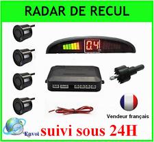 RADAR DE RECUL VOITURE SENSOR CAR PARKING LED ECRAN 4 CAPTEURS NOIR
