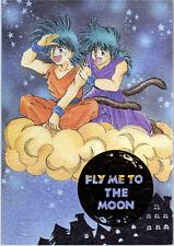 Dragon Ball Dragonball Z doujinshi Goku family Fly me to the Moon Yikumint