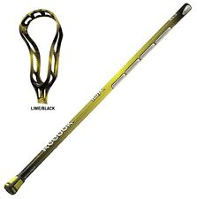 New Reebok 10K 5.0.5 box lacrosse stick unstrung yellow complete shaft with head