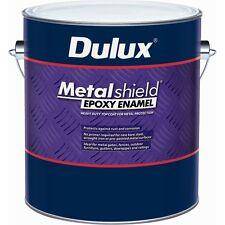 Dulux Metalshield 500ml Gloss Blue Base Topcoat Epoxy Enamel Paint