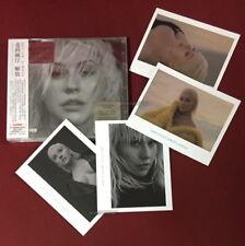 Christina Aguilera Liberation 2018 Taiwan Ltd CD w/OBI +4 photo cards