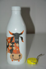 Milch Glasflasche Kenneth Townsend Kuh Mid Century milk glass bottle cow Egizia