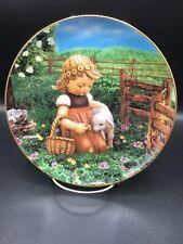 Favorite Pet - Hummel Gentle Friends 8 Inch Collector Plate ~