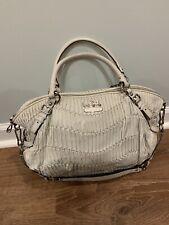Coach Handbag Gathered Italian Leather~Madison~Parchment