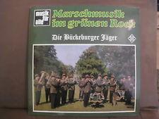 Marschmusik im grünen Rock Die Bückeburger Jäger ,Telefunken LP.Musik für alle