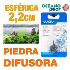 Piedra Difusora Esférica 2,2 cm Marina aire Oxigenador CO2 bomba Acuario difusor