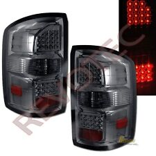 14-18 GMC Sierra 1500 / Sierra 2500HD Pickup Smoke LED Tail Lights Lamps