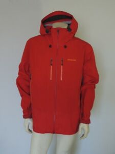 Patagonia Men's Red TRIOLET JACKET Gore-Tex Parka Shell Size XL