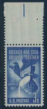 #1090 3c 1957 STEEL CENTENNIAL SUPERB OG NH GEM WITH PSE 100 CERT BU8694