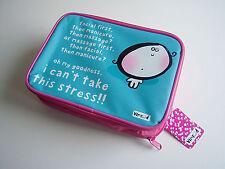 Make-up Bag Vemrod Pink 'I can't take this stress'