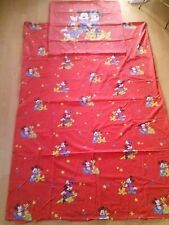Bettwäsche Disney Mickey Mouse Minnie 80/90er Dagobert Micky Maus pluto Vintage