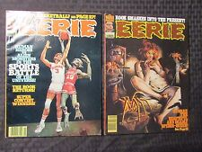1977 EERIE Warren Horror Magazine LOT of 2 #88 FVF 89 VF-