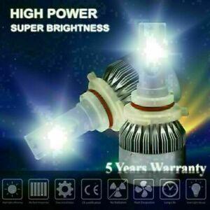 9006 HB4 LED headlight bulb lamp DRL driving light high low beam 6000K White HID