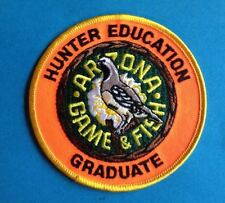 Arizona Game & Fish Hunter Education Outdoor Hunting Hipster Jacket Patch 100T