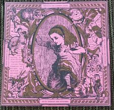 Original rare Through The Looking Glass Sheet BLOTTER ART psychedelic art