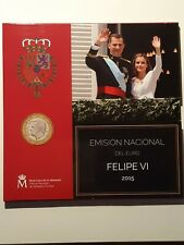 Miniset BU Espagne 2015  Euro, Neuf FELIPE VI Espana 1000ex