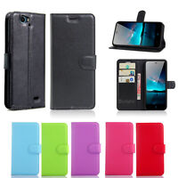 Premium Leather Wallet TPU Case Cover For Telstra 4GX HD A475 + Screen Protector