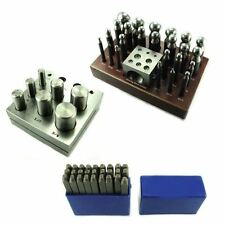24pc Doming Dapping Punch Set Disc Cutter Letter Punch