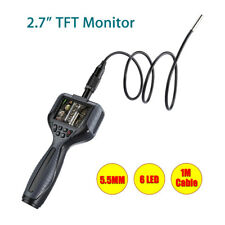 2.7 inch Endoscope Borescope Inspection Dia 5.5mm Battery Operated With Tool Box