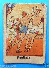 figurines cromos figurine sportive sports anni 30 40 v.a.v. vav pugilato boxe ss