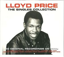 LLOYD PRICE THE SINGLES COLLECTION - 3 CD BOX SET - LAWDY MISS CLAWDY & MORE