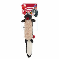 Mini Plush Dog Toys with Stuffing Squeaker PP Cotton for Small Madium Dogs - Fox