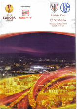 PROGRAMM PROGRAMMHEFTE ATHLETIC BILBAO-SCHALKE 04 11-12 EUROPA LEAGUE