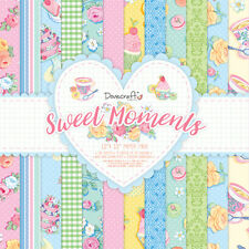 Dovecraft 12x12 - Sweet Moments - 36 sheets Scrapbooking Cardmaking