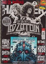 METAL HAMMER MAGAZINE +FREE CD&POSTERS! DEC 2012,THE MAGICK OF LED ZEPPELIN RARE