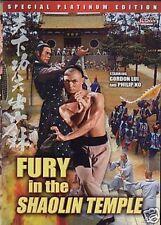 Fury In The Shaolin Temple --- Hong Kong Kung Fu Martial Arts Action movie DVD