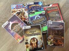 PC CD Rom Hidden Object Games Bundle
