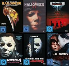 HALLOWEEN Complet: 1 2 3 4 5 H20 COLLECTION Michael Myers DVD collection NEUF