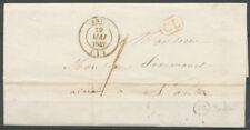 1842 Lettre en Local CAD T14 NANTUA + BR R BREDOT AIN(1) Sup. X3695