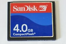Sandisk 4.0GB Compact Flash card memory card fits DSLR camera