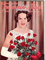 Tournament Of Roses Pasadena Rose Bowl Parade Pictorial 1964 VGEX 081716jhe