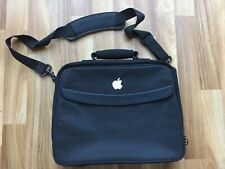 Apple Macintosh Logo Embroidered Laptop Bag Briefcase 15'' Wide