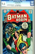 Detective Comics #381 CGC GRADED 9.6 - second highest graded - ow/white pgs