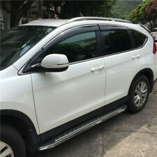 Chrome For Honda CRV 2017-2020 Window Visors Sun Shade Rain Guard Vent Deflector