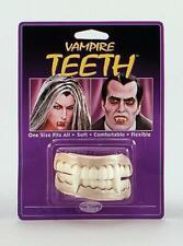 Halloween Fancy Dress Vampire / Dracula Teeth Easy Fit