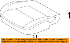 FORD OEM 11-15 Explorer Front Seat-Cushion Bottom Cover Right DB5Z7862900FB