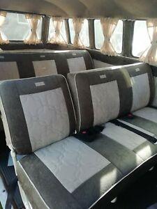 VW Splitscreen Rear Seats / Rear Bench Seats X 2 rows