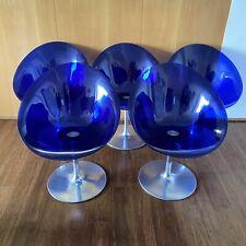 Original Kartell Eros Italian Chairs By Philippe Starck