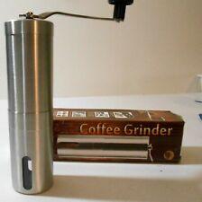 Travel Coffee Grinder, Ceramic Element, Adjustable Burrs  BIN E