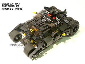 LEGO BATMAN THE TUMBLER FROM SET 7888 NO MINIFIGURES 100% COMPLETE GUARANTEE*