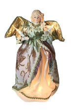 """Brinn's Florentine Electric Angel Tree Topper Doll 14"""" 1993 Christmas With Box"""