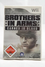 Brothers in Arms: Earned in Blood (Nintendo Wii/Wii U) Spiel OVP, PAL, SEHR GUT