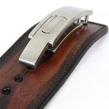 "Power Lifting Belt (ANARK ARTISAN ""Levertec"") Real Leather, Lever Buckle, 10mm"