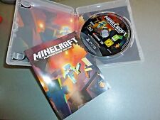 Minecraft Playstation 3 Made in Austria Original game, box + Manual in English